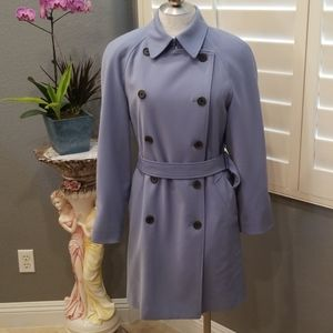Anne Klein periwinkle coat size S